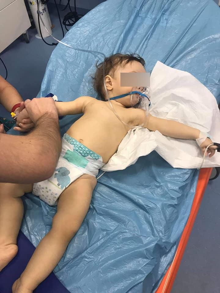 Un baietel de 11 luni a murit din cauza gripei. Mama facuse un apel pe Facebook cu cateva ore inainte | Demamici.ro