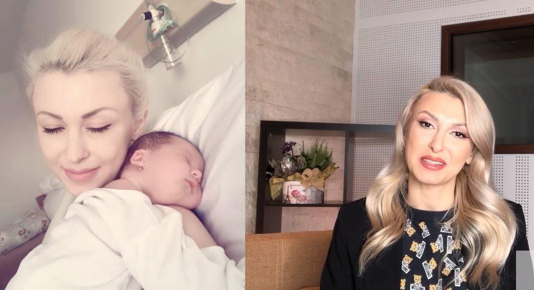 "Andreea Balan a ales sa nasca prin cezariana: ""Mi-a placut sa fiu relaxata, sa nu existe durerile travaliului!""   Demamici.ro"